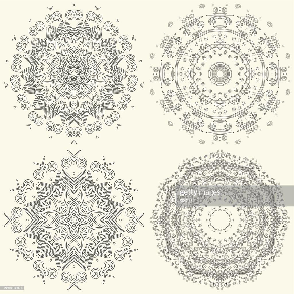 Ornamental pattern : Vector Art