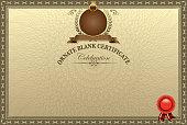 ornate certificate