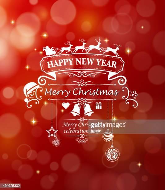 ornate christmas greeting