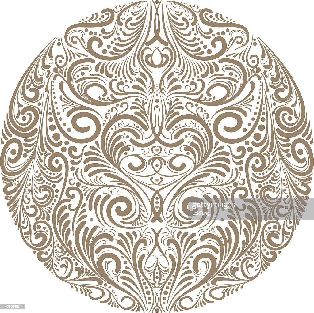 Ornate circle - Illustration