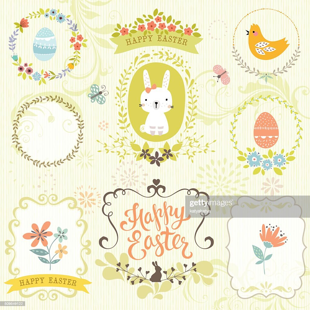 Ornate Easter Floral Set