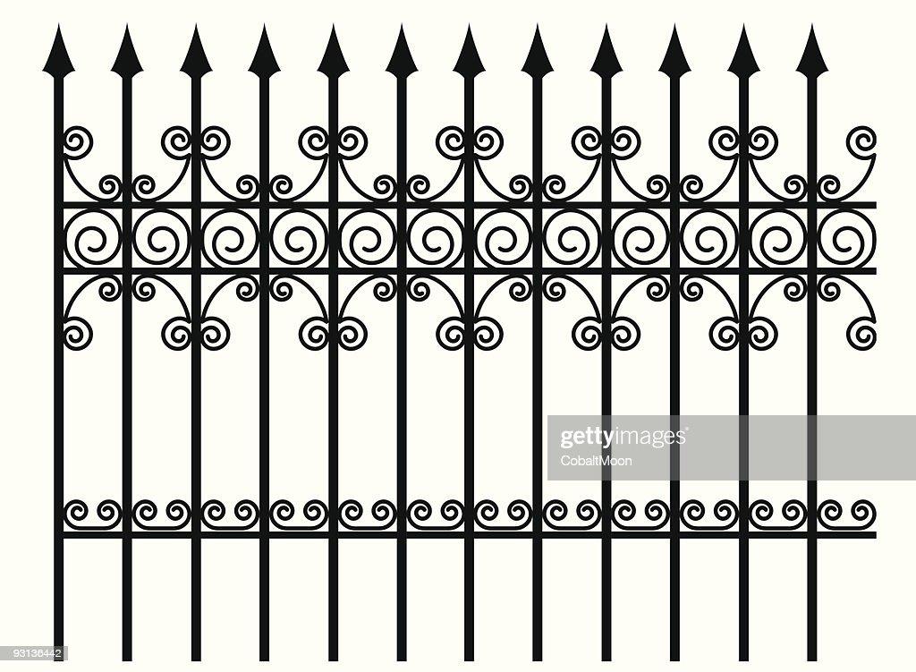 Ornate Fence Design
