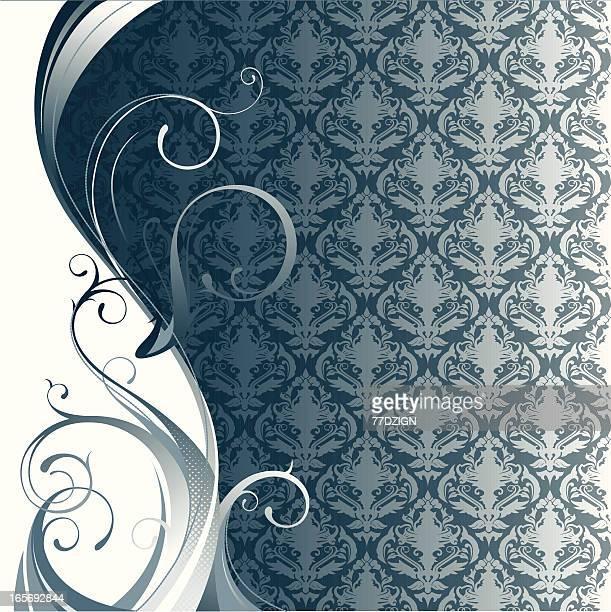 ornate flourishes baroque style