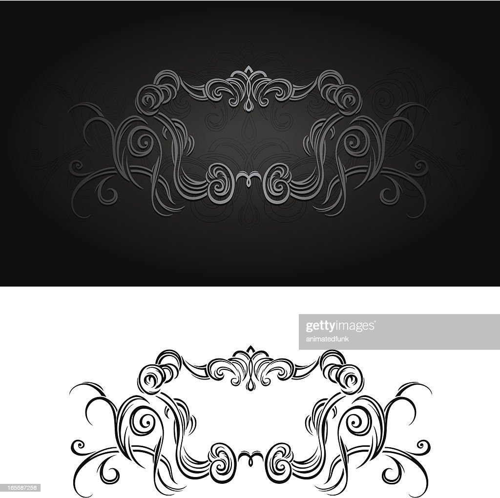 Ornate Frame Insignia Vector Art | Getty Images