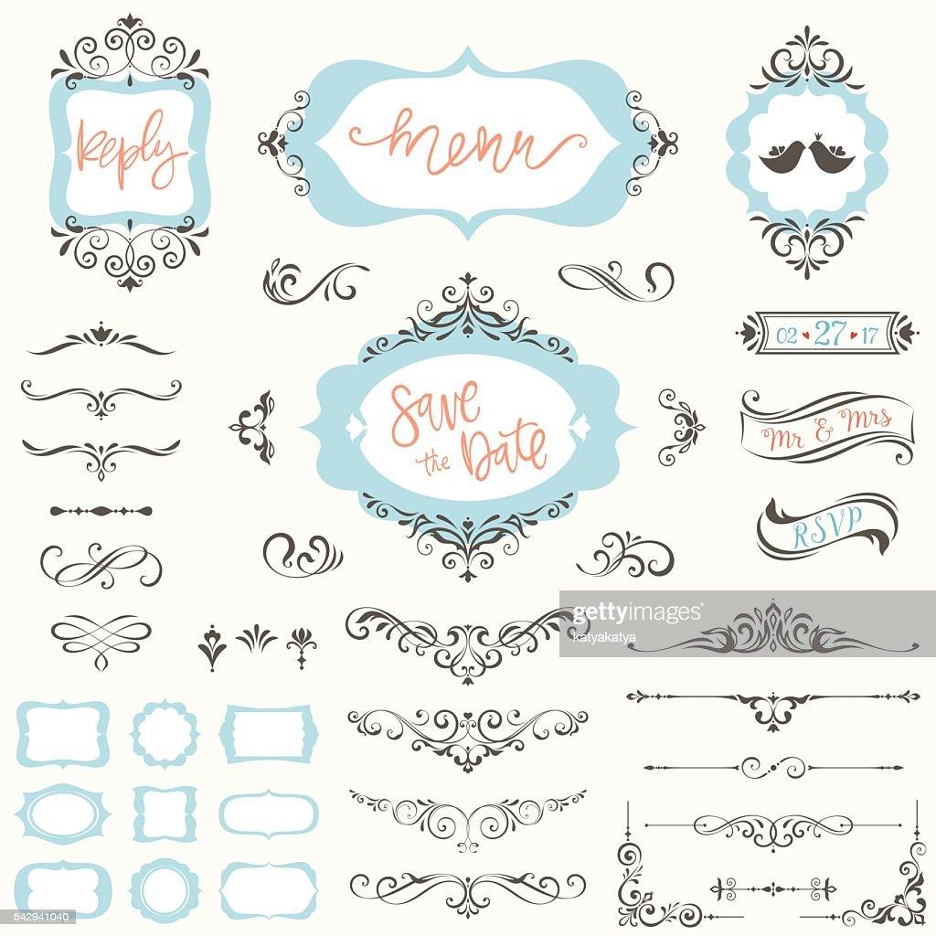 Ornate Frames Designers Set