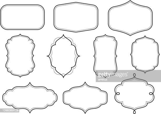 華やかなフレーム - 装飾美術点のイラスト素材/クリップアート素材/マンガ素材/アイコン素材