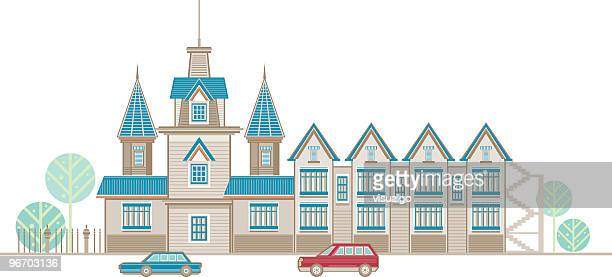 ornate houses