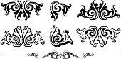Ornate Scrolls and Rule