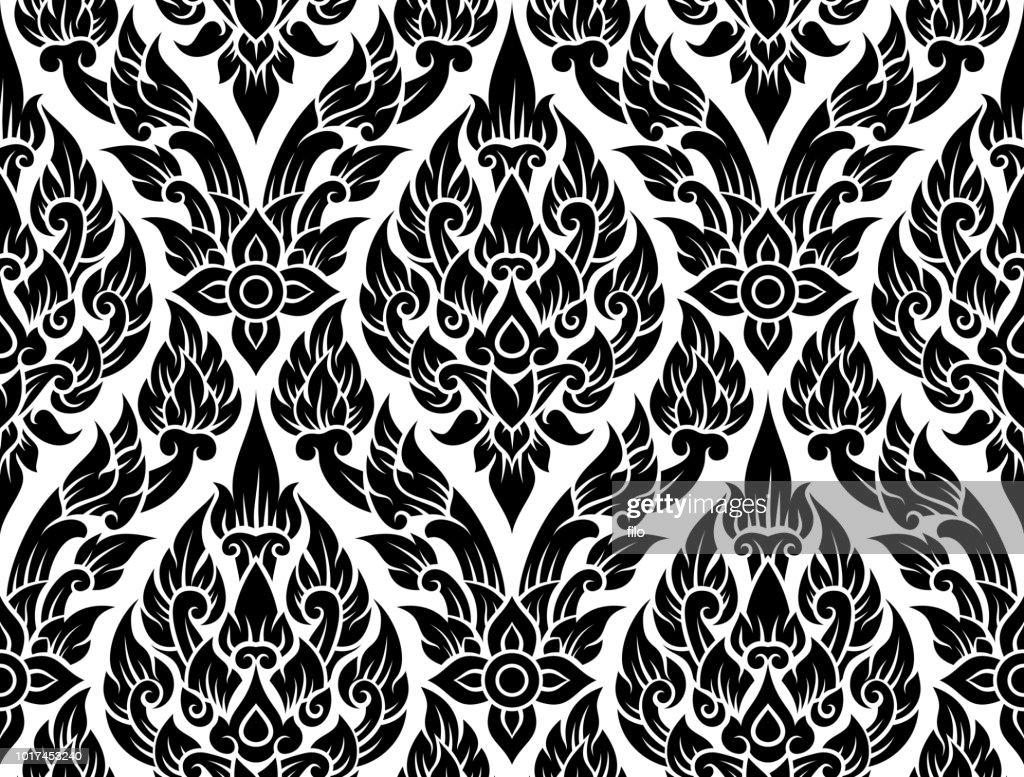 Ornate Seamless Pattern : stock illustration