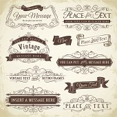 Ornate Vintage Frames