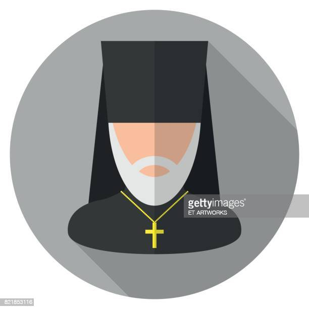 Orthodoxer Priester Icon