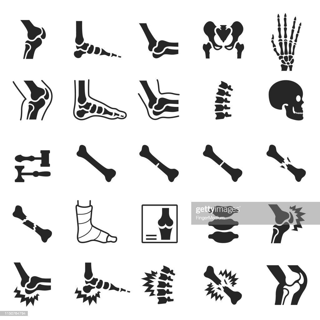 Jogo ortopédico do ícone : Ilustração