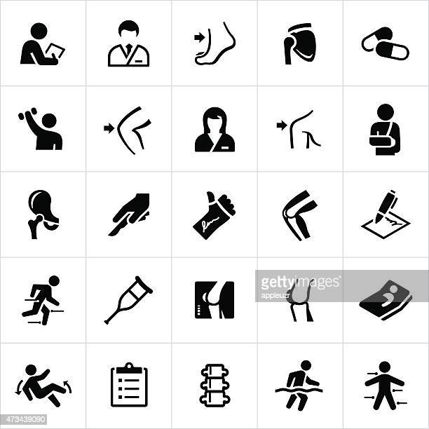 Orthopedic Surgery and Medicine Icons