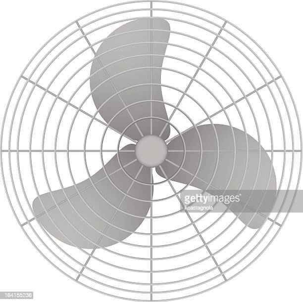 oscillating fan - electric fan stock illustrations