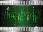 Oscilloscope background