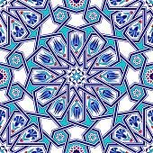 Ottoman Star Transition Patterned