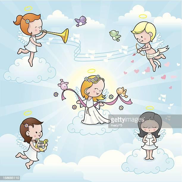 El nuevo celebración de niños ángel Monada