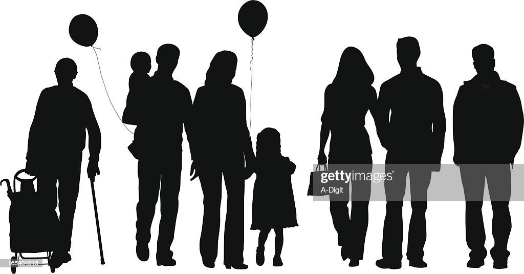 Ours Vector Silhouette : Stockillustraties