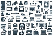 Нousehold appliances icons