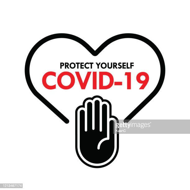 covid-19 outbreak influenza as dangerous flu strain cases as a pandemic concept banner flat style illustration, covid-19 stock illustration - illness prevention stock illustrations