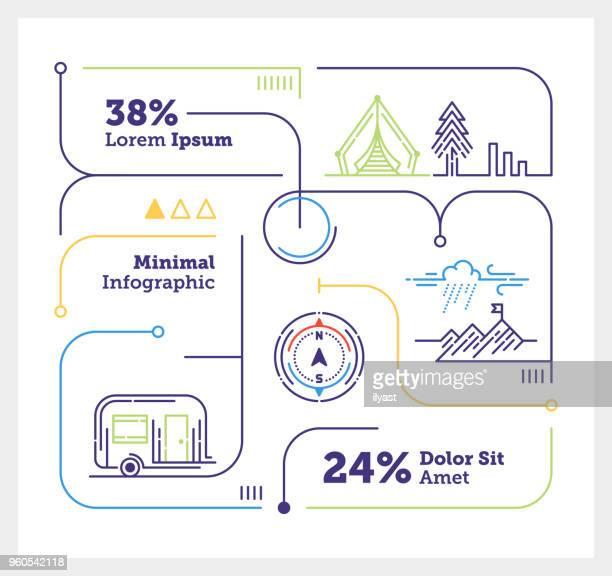 Outdoor Activity Mini Infographic