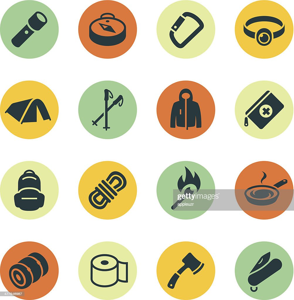 Outdoor Gear Icons