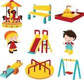 Outdoor Playground Fun