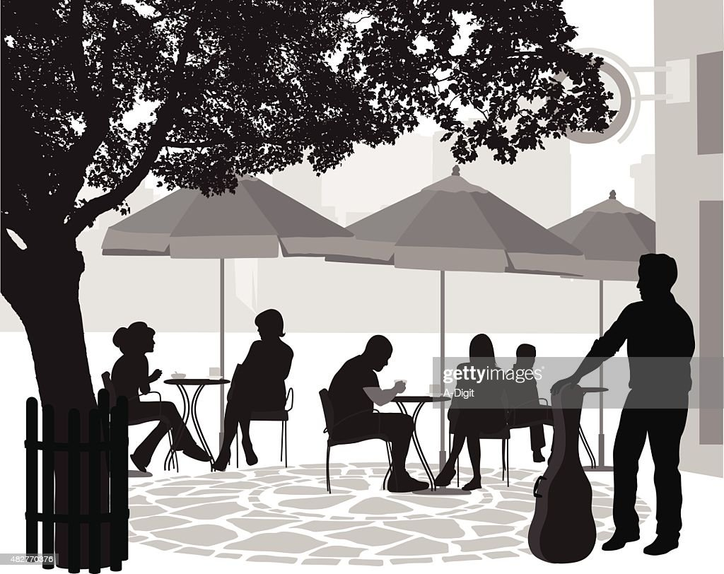 Outdoor Terrace Musician