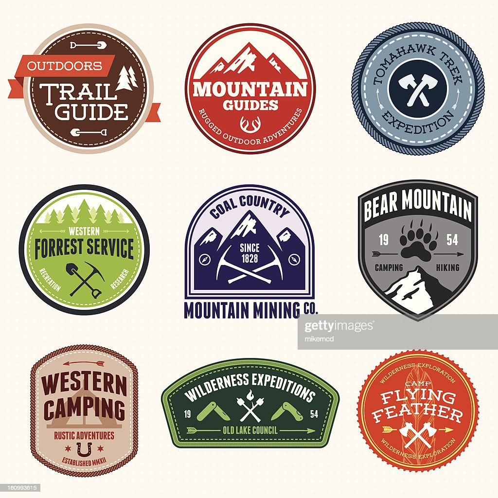 Outdoors Badges