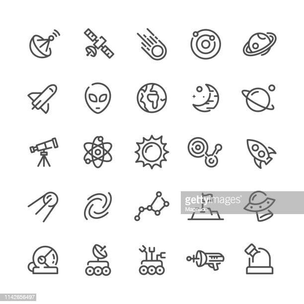 Outer Space Icons Set