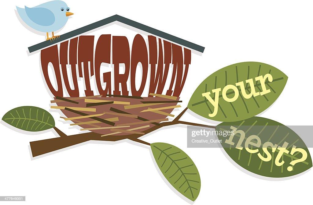 Outgrown Heading