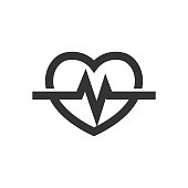 Outline Icon - Heart rate