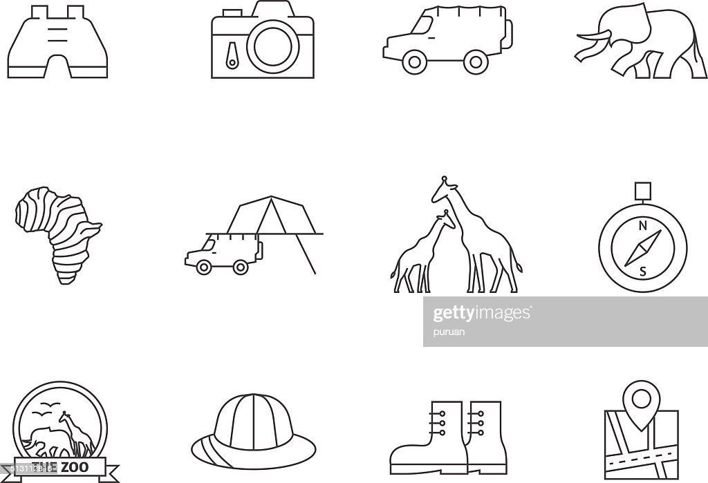 Outline Icons - Safari