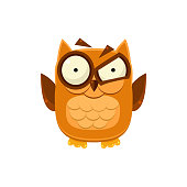 Outraged Brown Owl