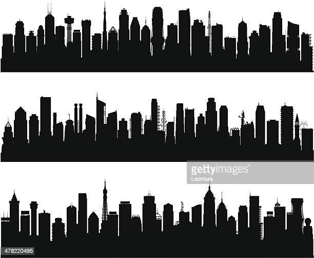 Über 100 Gebäude