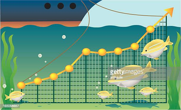 overfishing - water pollution stock illustrations, clip art, cartoons, & icons