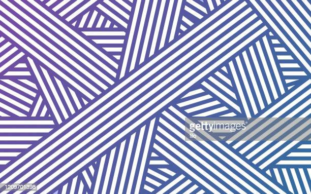 overlap lines abstract background - tilt stock illustrations