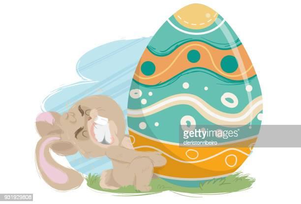 O Ovo de Páscoa Gigante (coelhinho esforçado)