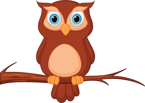 Free animated owl images pictures and royalty free stock photos owl cartoon standing on tree voltagebd Images