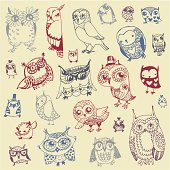 Owl Doodle Collection