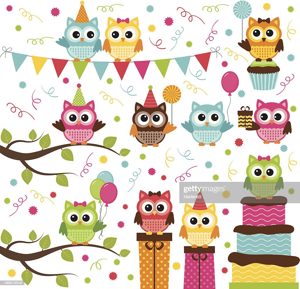 Owl Party Set