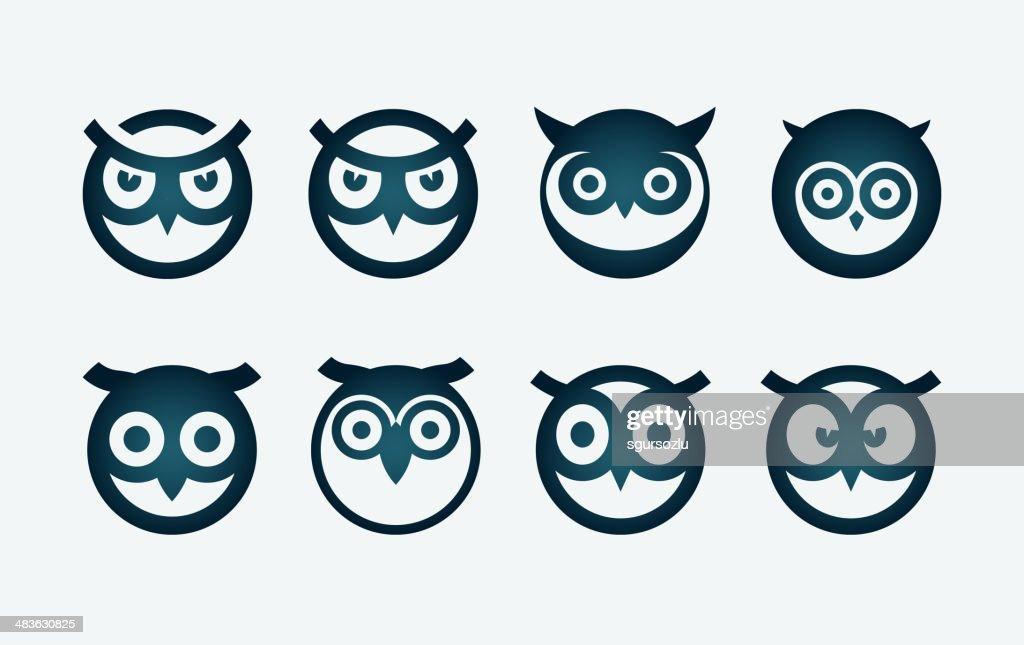 Owl Symbol Set