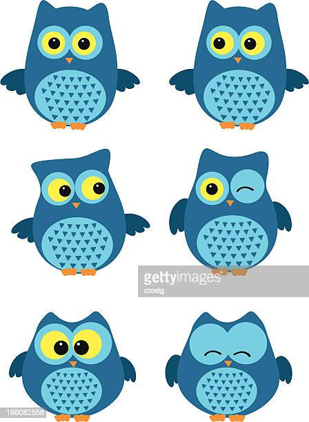 owl - owl stock illustrations, clip art, cartoons, & icons