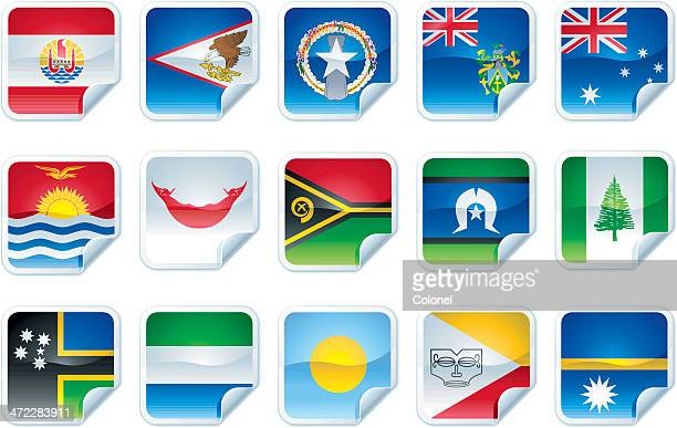 Pacific Island Flags