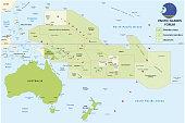pacific islands forum map
