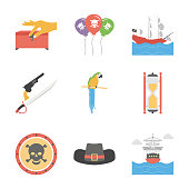 Pack Of Pirate icons