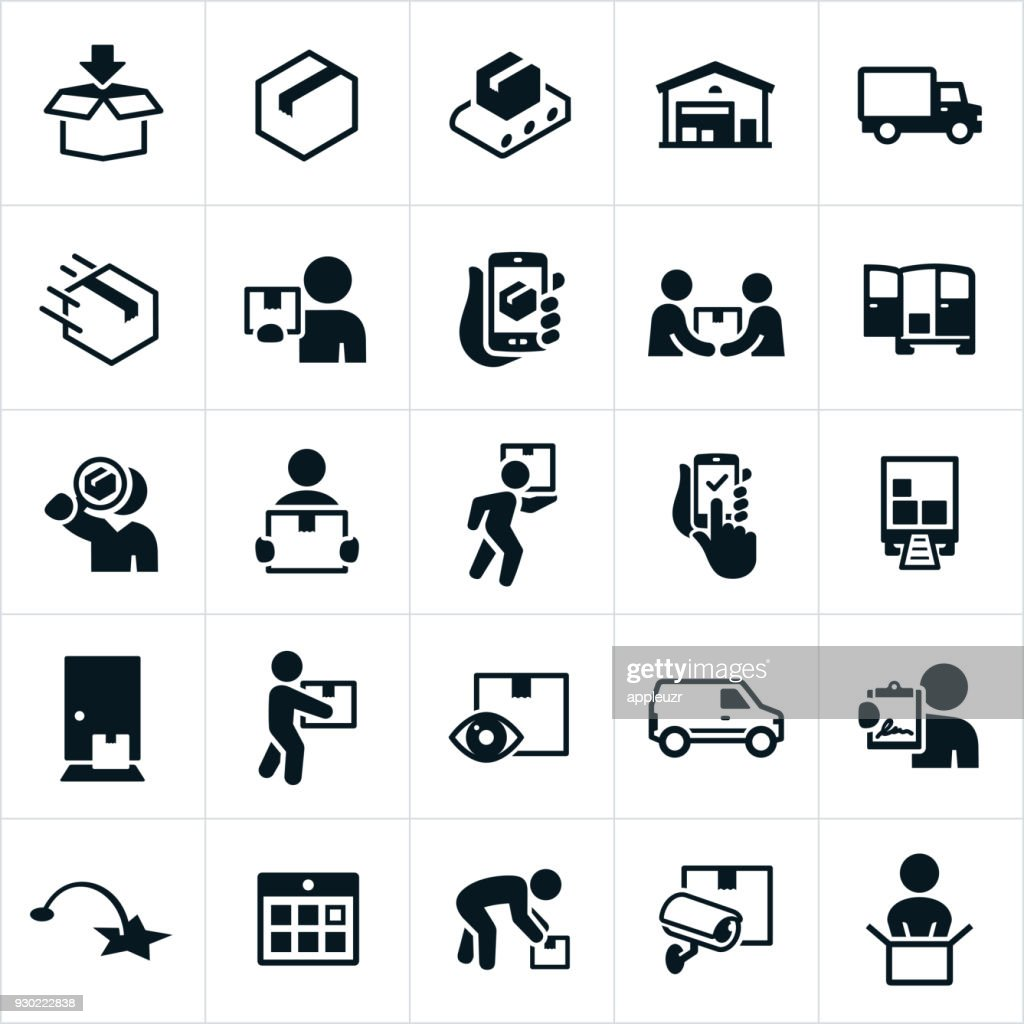 Package Delivery Icons