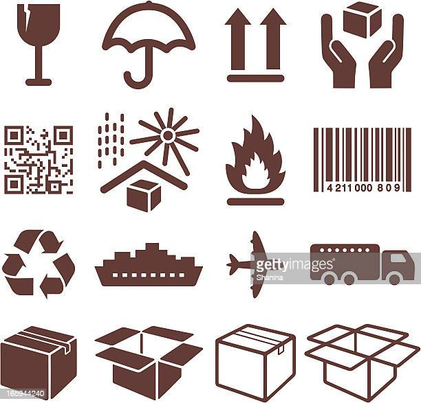 Packaging Symbols - Icons Set