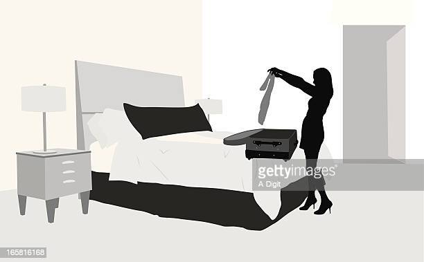 Packing Vector Silhouette
