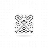 Paddles icon